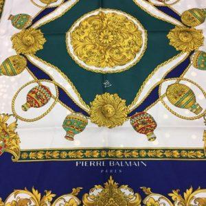 Foulard en soie Balmain